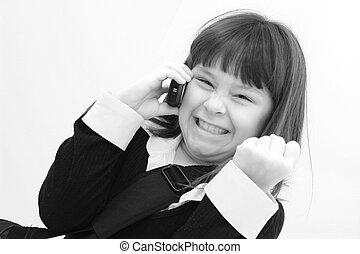 cellphone, fille 01