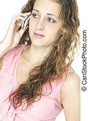 cellphone, girl