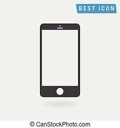 Cellphone Icon, vector icon eps10.