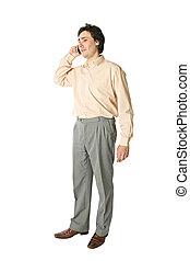 cellphone, man