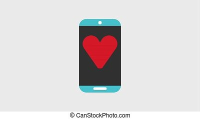 cellphone or smartphone icons - cellphone or smartphone with...