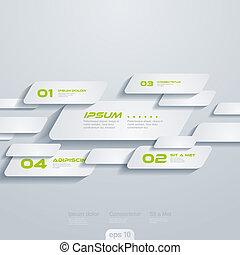 cells., template:, concept., kreativ, vektor, bewegen, infographics, design