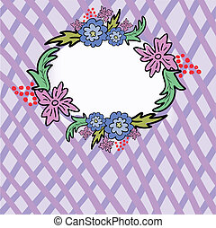 cellular flower frame