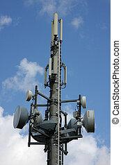 cellular phone network mast