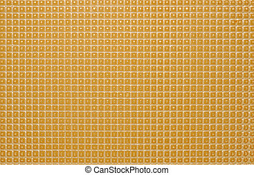 Wafer, cellular structure of a material.