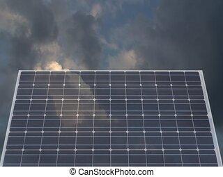 cellule, solaire