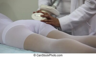 Cellulite treatment - Beauty therapy against cellulite with...