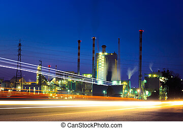 Cellulose Factory - Cellulose factory by night