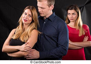 celos, en, el, relación