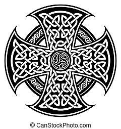 celta, nacional, ornaments.