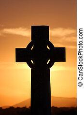 celta, ocaso, cruz