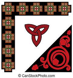 celta, padrão, jogo