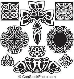 celta, vetorial, art-collection.