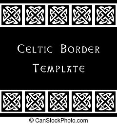 Celtic border template