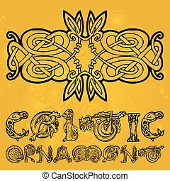 Celtic decorative  ornament