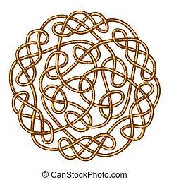 Celtic Knot - Big celtic knot, celtic ornament, vector...