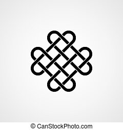 Celtic knot. Ornament