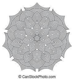 celtic knot pattern card, mandala, amulet - celtic knot ...