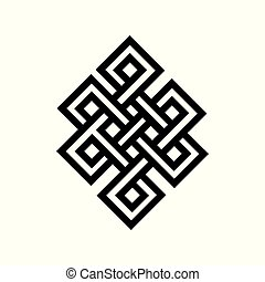 Celtic Knot Tattoo Symbol - Ready for Print
