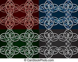 Celtic knotted seamless