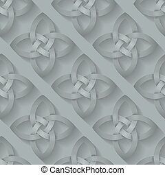 Celtic Knotwork Seamless background - Seamless background...
