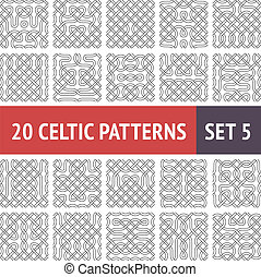 Celtic Patterns Set
