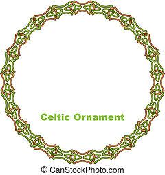 Celtic round frame.