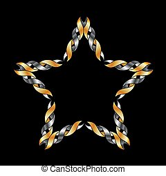 Celtic star- Tattoo or decoration