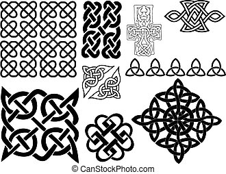 Celtic style elements