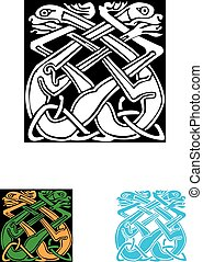 Celtic symbol, great for tatoo or shirt print.