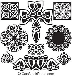 Celtic vector art-collection.