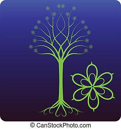 celtico, albero