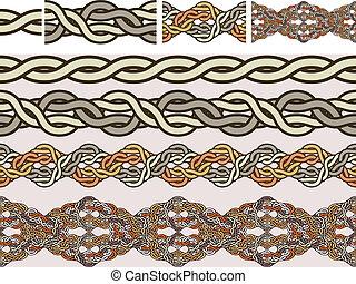 celtico, nazionale, ornamenti