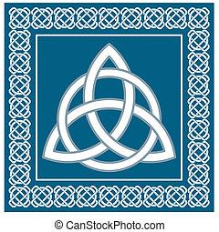celtico, vettore, tradizionale, simbolo