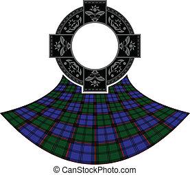 celtique, anneau, écossais