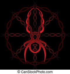 celtique, araignés