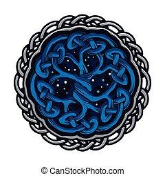 celtique, arbre, vie