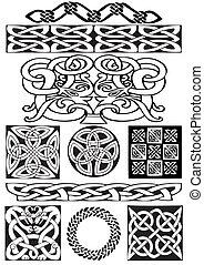 celtique, ornament.