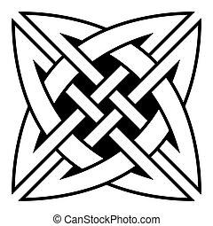 celtique, quaternary, noeud