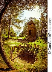 celtycki, relikwiarz, na, havranok, -, slovakia