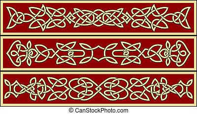 celtycki, upiększenia