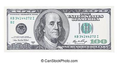 cem dólar, um