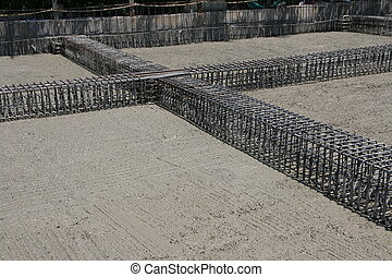 cement and steel