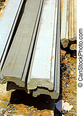 Cement block background - For construction.