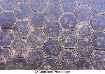 cement block floor texture