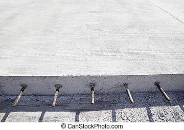cement concrete road construction