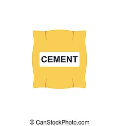 cement flat icon
