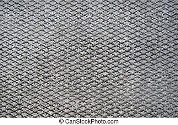 Cement Grid Indent On Asphalt - Cement grid indentation in...
