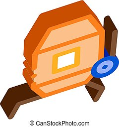 Cement Mixer Isometric Icon Vector Illustration - Cement ...