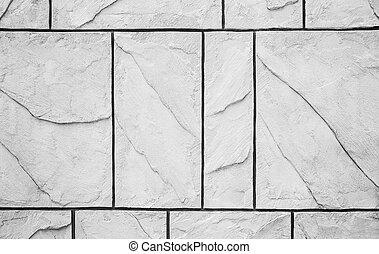 cement, vägg, bakgrund